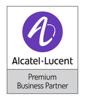 Logo Alcatel-Lucent Prenium Partner